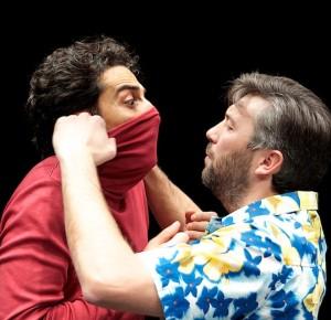 """Milano. Una scena di """"Brutto"""", di Marius von Mayenburg, al Teatro Filodrammatici."""