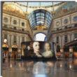Spettacolari installazioni per celebrare l'eccellenza italiana del saper fare in occasione della settimana della moda