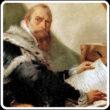 Alla mostra su Giorgione anche il capolavoro di Tiepolo, Ritratto di Riccobono (l'umanista che qui sembra scocciato)