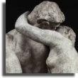 """Matte risate scatenate dai bacchettoni di Fb: hanno bocciato il """"Bacio"""" di Rodin come """"troppo sessualmente esplicito"""""""