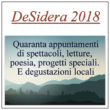 """16ma edizione della rassegna """"deSidera"""" a Bergamo e provincia. 40 spettacoli tra storia e natura. Fino al 6 ottobre"""