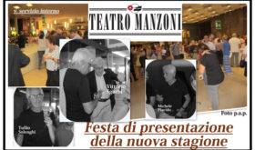 Il Teatro Manzoni anche quest'anno si fa in quattro: Prosa, Cabaret, Bambini ed Extra. Aprirà Solfrizzi l'11 ottobre