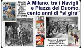 """Milano e il Cinema: 200 foto, locandine, manifesti e video per """"girare"""" la storia di un amore lungo più di cent'anni"""