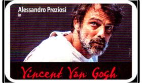 L'allucinata esistenza di Van Gogh, trasfigurato tra arte e follia in una trascinante performance di Alessandro Preziosi